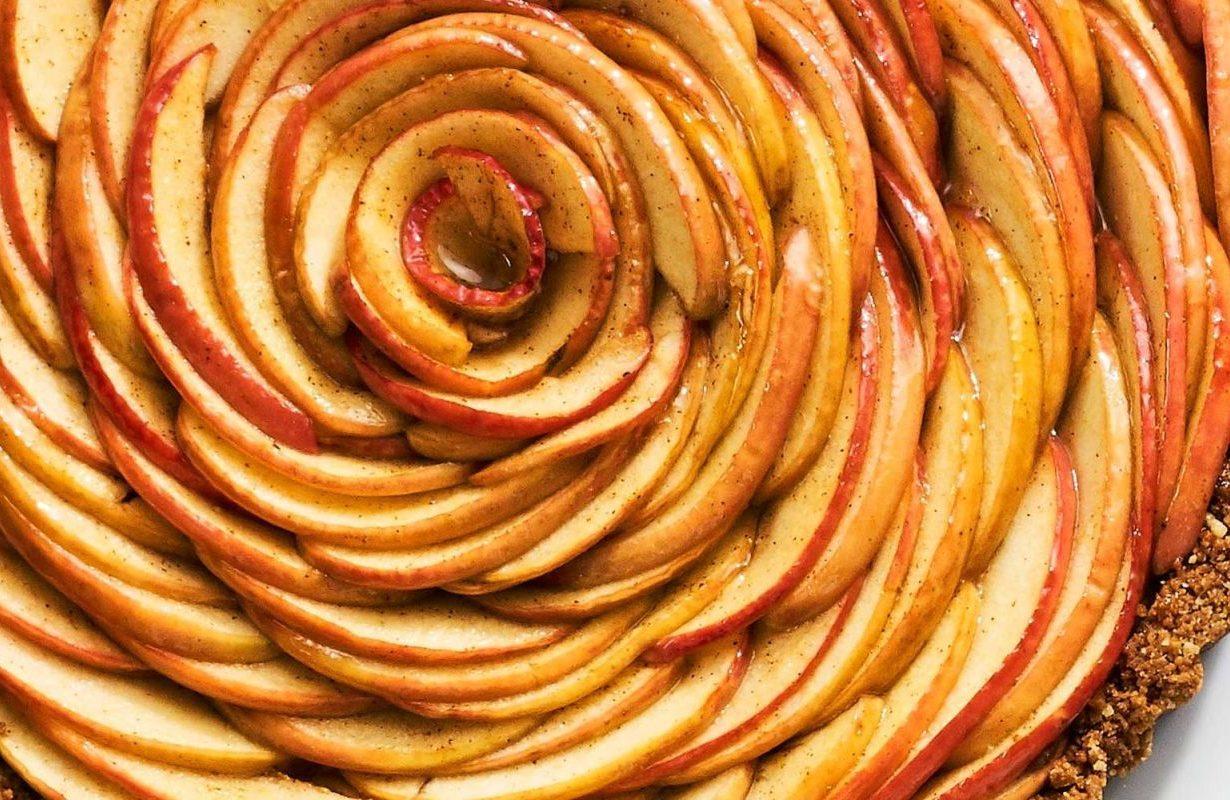 Apple Blossom Tart