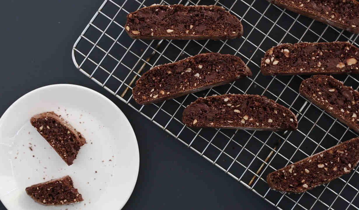 Chocolate Dipped Hazelnut