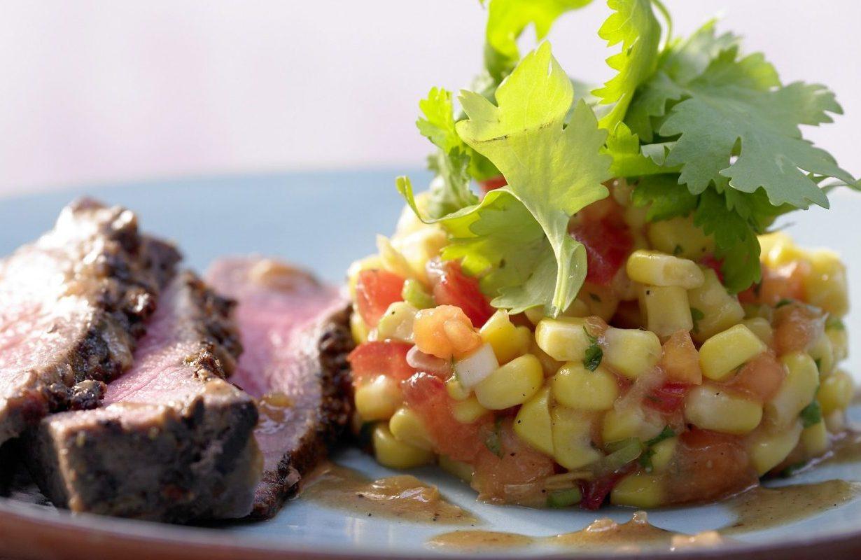 Jamaican-style beef tenderloin