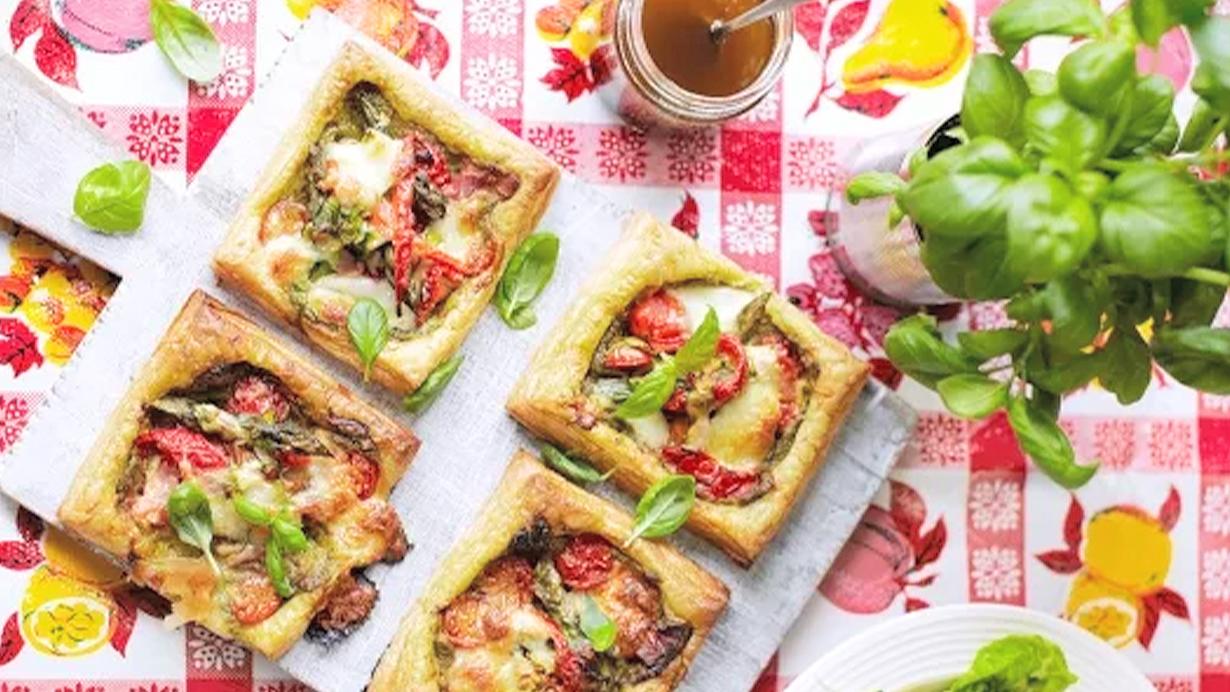 Vegetable-tartlets