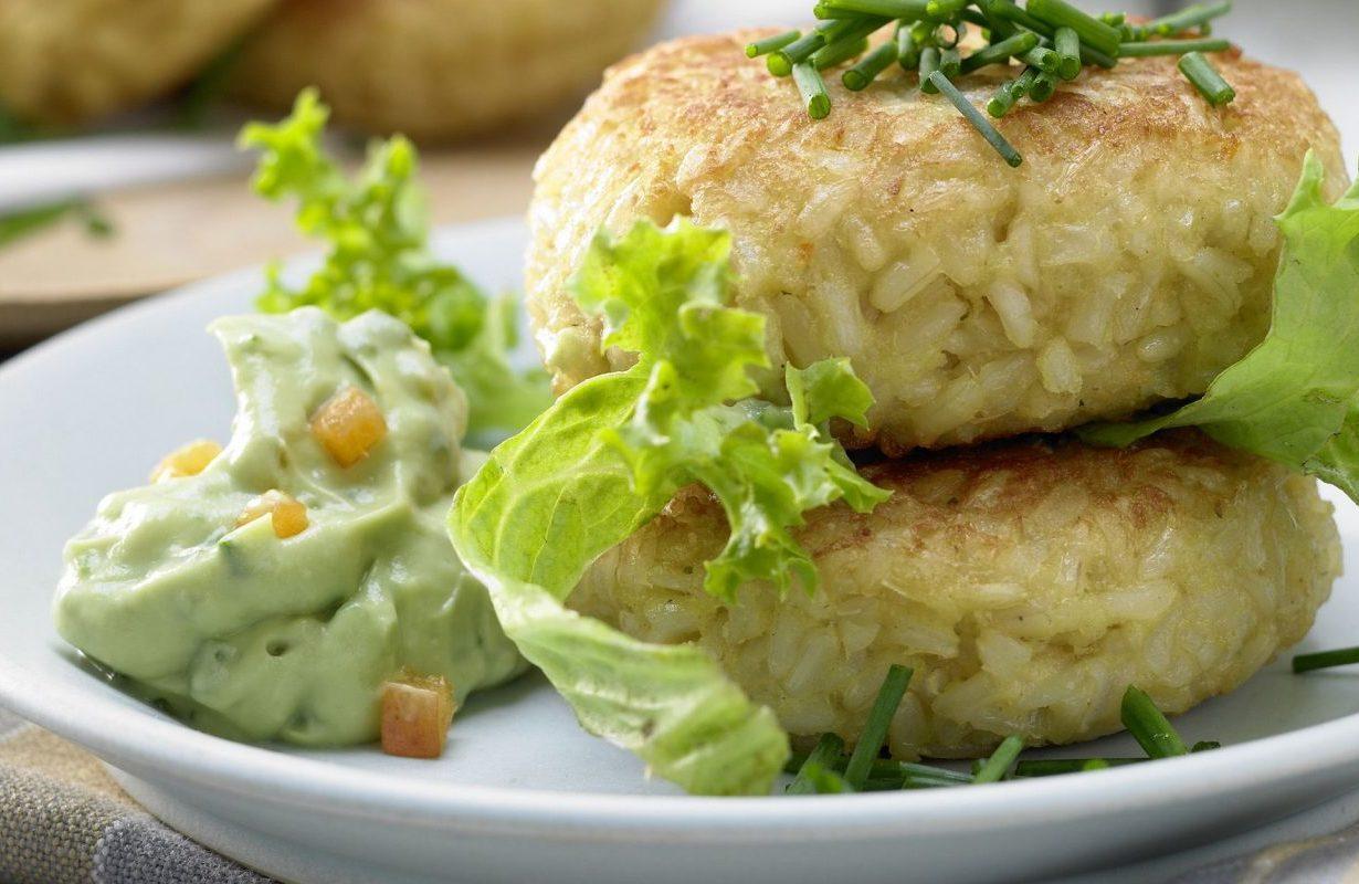 Vegetarian rice balls
