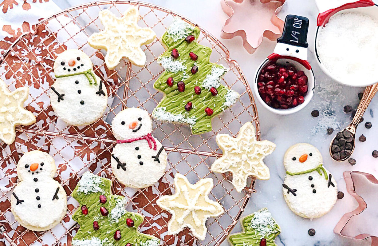 Zevia Cream Soda Christmas Cookies Recipe