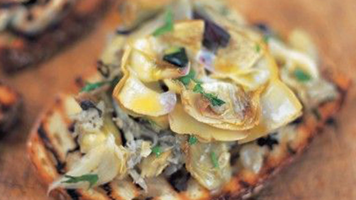 artichoke-bruschetta