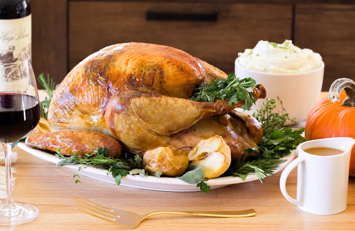 herb-roasted-turkey-with-apple-cider-gravy